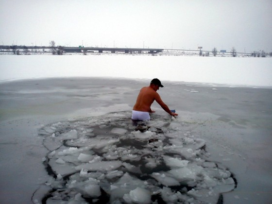 Kolega ľadoborec ;)